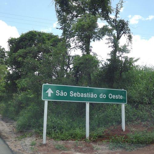 São Sebastião do Oeste Minas Gerais fonte: br.distanciacidades.net